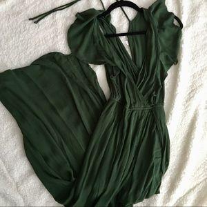 Forest Green Maxi Dress